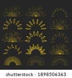 set of vintage sunbursts in...   Shutterstock .eps vector #1898506363