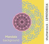 mandalas. decorative round... | Shutterstock .eps vector #1898508016