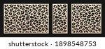 laser cut patterns. vector... | Shutterstock .eps vector #1898548753