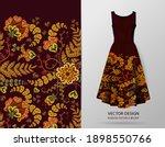 elegant seamless pattern with...   Shutterstock .eps vector #1898550766