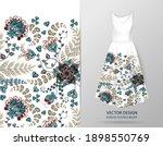vertical seamless fashion...   Shutterstock .eps vector #1898550769