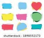 quotes frames. quote remark ... | Shutterstock .eps vector #1898552173