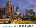 Skyline Of New Taipei City In...