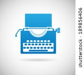 retro vintage creativity symbol ... | Shutterstock .eps vector #189856406