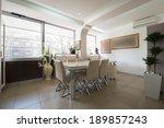 modern office interior | Shutterstock . vector #189857243