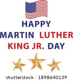 martin luther king day poster | Shutterstock .eps vector #1898640139