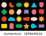 colorful trendy and isolated... | Shutterstock .eps vector #1898648626