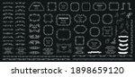 calligraphic design elements .... | Shutterstock .eps vector #1898659120