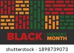 black history month. african...   Shutterstock .eps vector #1898739073