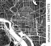 dark vector art map of...   Shutterstock .eps vector #1898744773