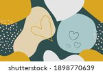 abstract seamless pattern with... | Shutterstock .eps vector #1898770639