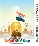 vector illustration of indian... | Shutterstock .eps vector #1898792386