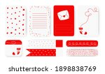 to do list  sticker and duct... | Shutterstock .eps vector #1898838769