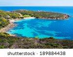Small photo of Cala Sabina beach in Asinara island in Sardinia, Italy