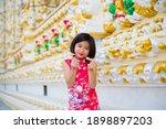 Little thai girl. portrait of...