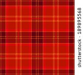 Red Seamless Tartan Plaid Shirt Design