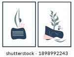 set two of abstract organic... | Shutterstock .eps vector #1898992243