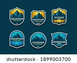 set the mountain logo and... | Shutterstock .eps vector #1899003700
