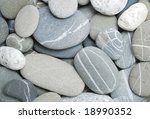 pebbles great as a background - stock photo
