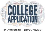 college application vector...   Shutterstock .eps vector #1899070219