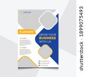 business brochure. flyer design.... | Shutterstock .eps vector #1899075493