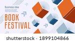 Banner For Book Festival. Open...