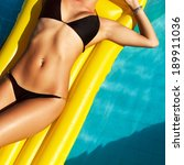 young pretty fashion woman body ... | Shutterstock . vector #189911036