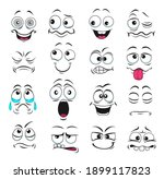face expression isolated vector ... | Shutterstock .eps vector #1899117823