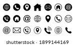 web icon set. website internet... | Shutterstock .eps vector #1899144169