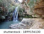 Waterfall In National Park Ein...