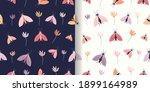 decorative seamless patterns... | Shutterstock .eps vector #1899164989