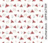 decorative seamless pattern... | Shutterstock .eps vector #1899167509