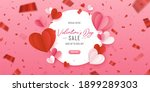 happy st. valentine s day card... | Shutterstock .eps vector #1899289303