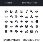 ophthalmology. collection of... | Shutterstock .eps vector #1899322540