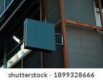 signboard mockup and template... | Shutterstock . vector #1899328666