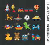 vector image. cute vector... | Shutterstock .eps vector #1899357046