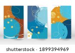 abstract cover template. set of ... | Shutterstock .eps vector #1899394969