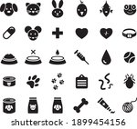 set of icons for veterinary ... | Shutterstock .eps vector #1899454156