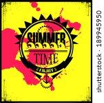summer holidays illustration | Shutterstock .eps vector #189945950