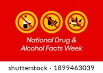 national drug and alcohol facts ... | Shutterstock .eps vector #1899463039