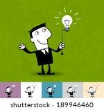 idea. business illustration ... | Shutterstock .eps vector #189946460