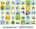 webinar online concept...   Shutterstock .eps vector #1899470629
