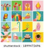 hand drawn illustrations of...   Shutterstock .eps vector #1899472696