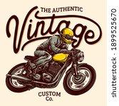 vector of classic custom... | Shutterstock .eps vector #1899525670