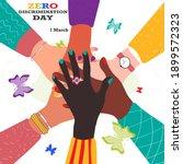 Zero Discrimination Day 1 March....