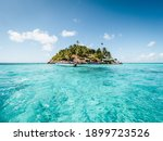 View Of A Small Island In The...