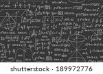 mathematical vector seamless... | Shutterstock .eps vector #189972776