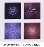 vintage plate music album... | Shutterstock .eps vector #1899735823