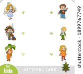 matching game for children.... | Shutterstock .eps vector #1899767749