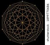 Magical Sacred Geometry Mandala ...